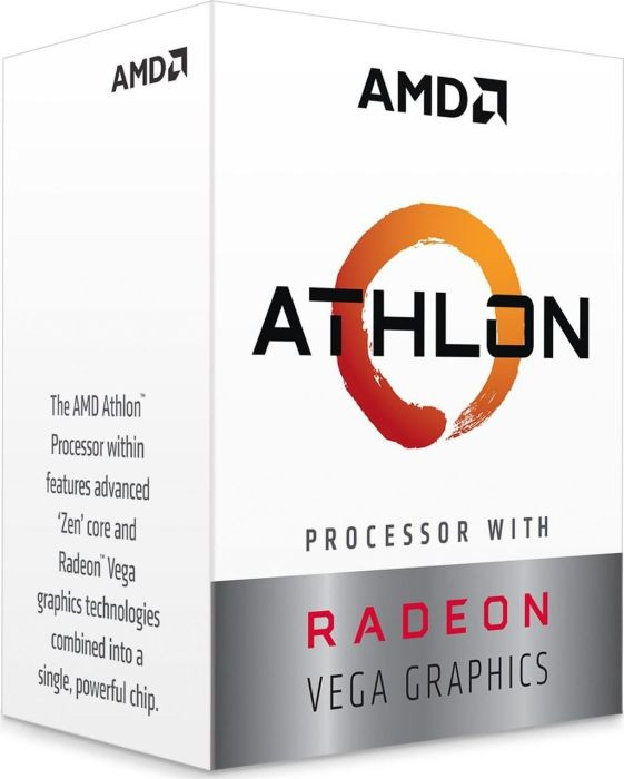 Процесор AMD Athlon 240GE 3.5GHz sAM4 Box
