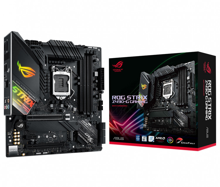Материнська плата Asus ROG Strix Z490-G Gaming Socket 1200 microATX