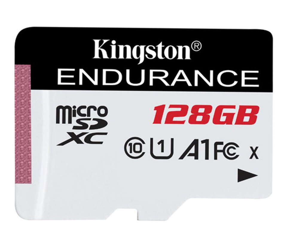 Карта пам'яті microSD 128Gb Kingston Endurance