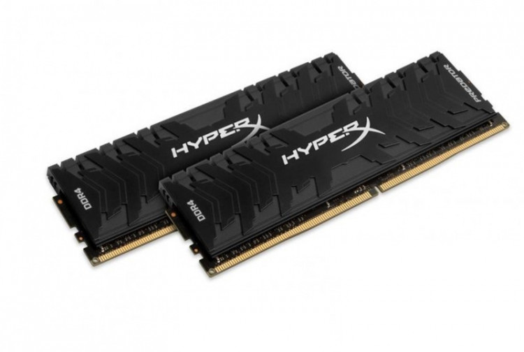 Оперативна пам'ять DIMM 16Gb KIT(2x8Gb) DDR4 PC3000 Kingston HyperX Predator Black