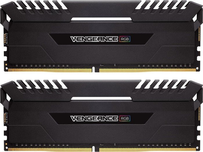 Оперативна пам'ять DIMM 16Gb KIT(2x8Gb) DDR4 PC2933 Corsair Vengeance RGB
