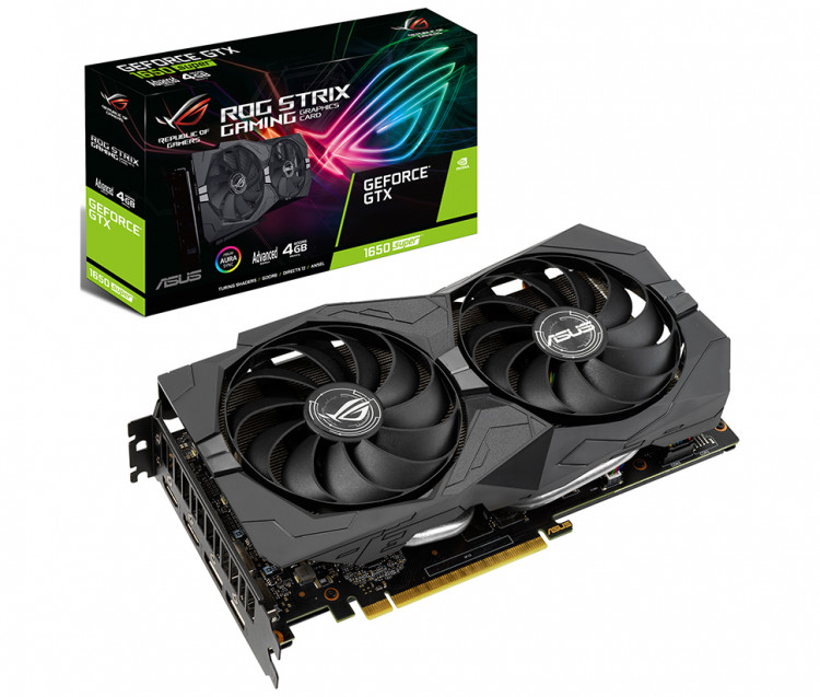 Відеокарта nVIDIA GTX1650 Asus ROG Strix Advanced 4Gb 128bit GDDR5