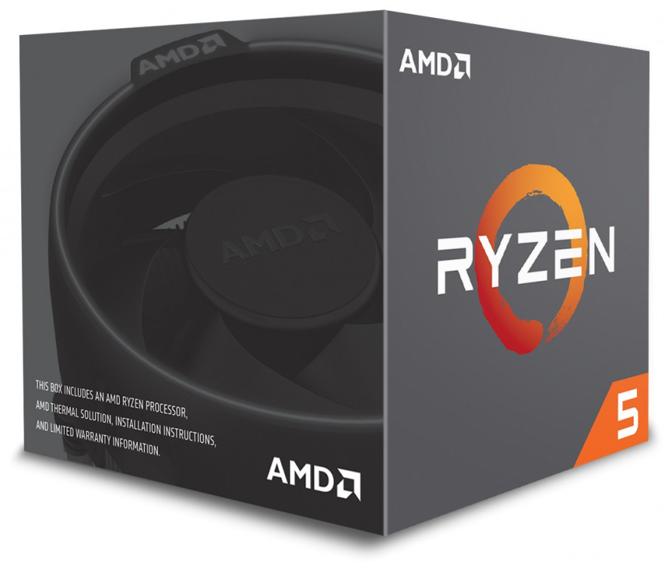 Процесор AMD Ryzen 5 1600 3.2GHz sAM4 Box