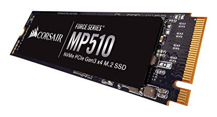 SSD M.2 480Gb Corsair Force MP510 CSSD-F480GBMP510 PCIe 3.0x4 (3D NAND TLC)