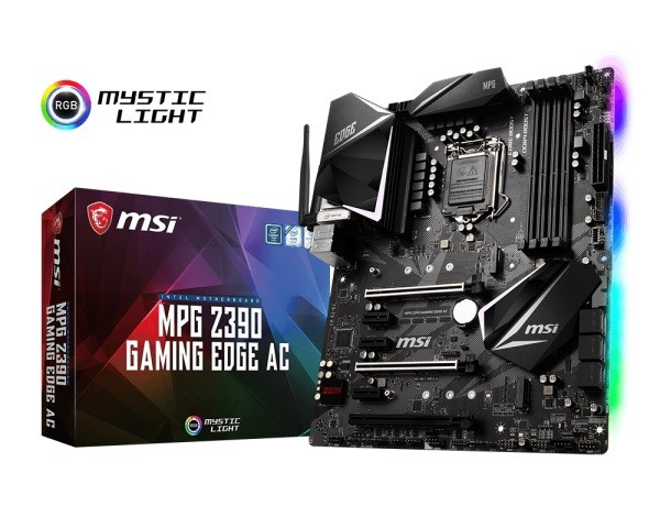 Материнська плата MSI MPG Z390 Gaming Edge AC Socket 1151 ATX