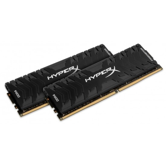 Оперативна пам'ять DIMM 16Gb KIT(2x8Gb) DDR4 PC2666 Kingston HyperX Predator Black