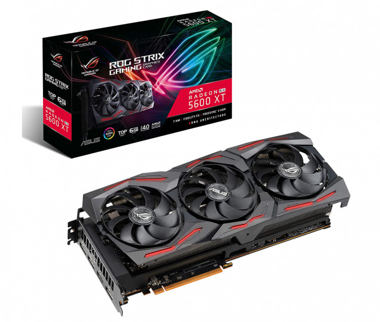 Відеокарта AMD RX 5600 XT Asus Gaming 6Gb 192bit GDDR6