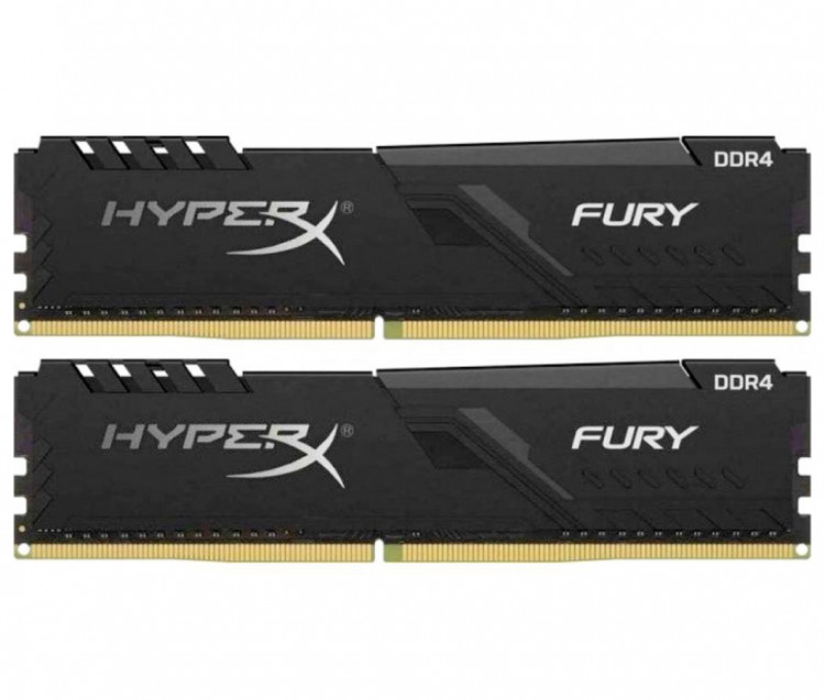 Оперативна пам'ять DIMM 16Gb KIT(2x8Gb) DDR4 PC3200 Kingston HyperX Fury