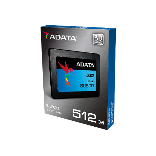 "SSD 2,5"" 512Gb A-DATA Ultimate SU800 ASU800SS-512GT-C SATA III (3D TLC)"
