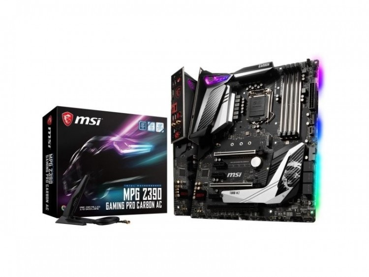 Материнська плата MSI MPG Z390 Gaming Pro Carbon AC Socket 1151 ATX