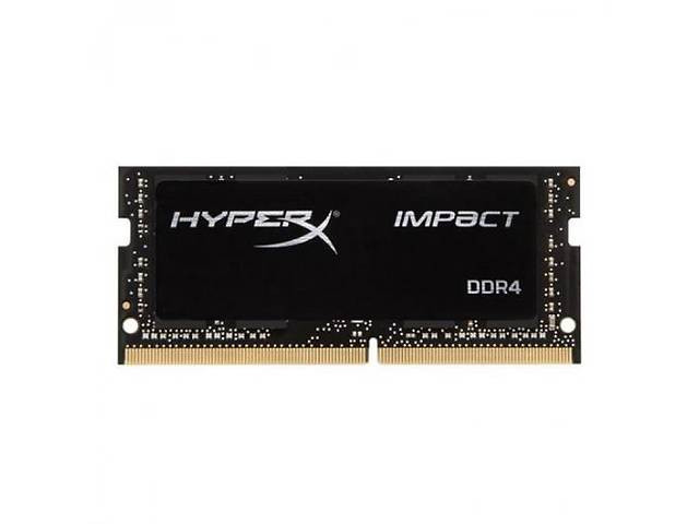 Оперативна пам'ять SO-DIMM 8Gb DDR4 PC2666 Kingston HyperX Impact