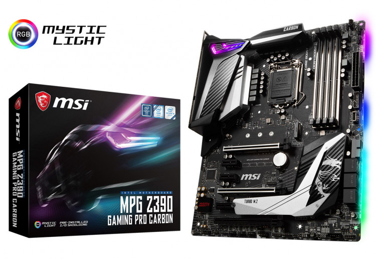 Материнська плата MSI MPG Z390 Gaming Pro Carbon Socket 1151 ATX