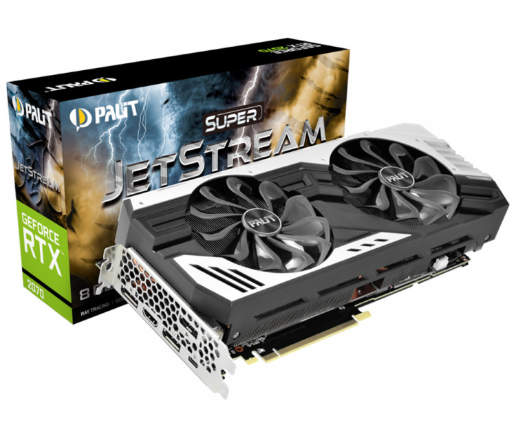 Відеокарта nVIDIA RTX2070 Palit Super JetStream 8Gb 256bit GDDR6