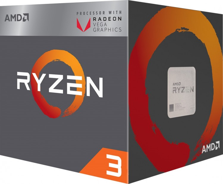 Процесор AMD Ryzen 3 2200G 3.5GHz sAM4 Box