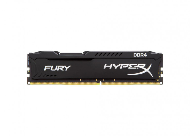Оперативна пам'ять DIMM 8Gb DDR4 PC3200 Kingston HyperX Fury Black