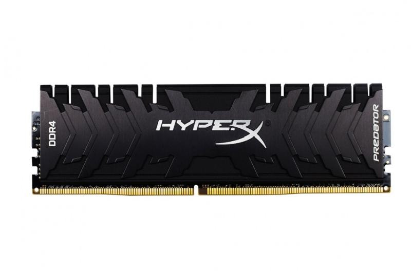 Оперативна пам'ять DIMM 8Gb DDR4 PC2666 Kingston HyperX Predator Black