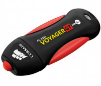 Флешка 128Gb Corsair Flash Voyager GT USB3.0 Black-Red