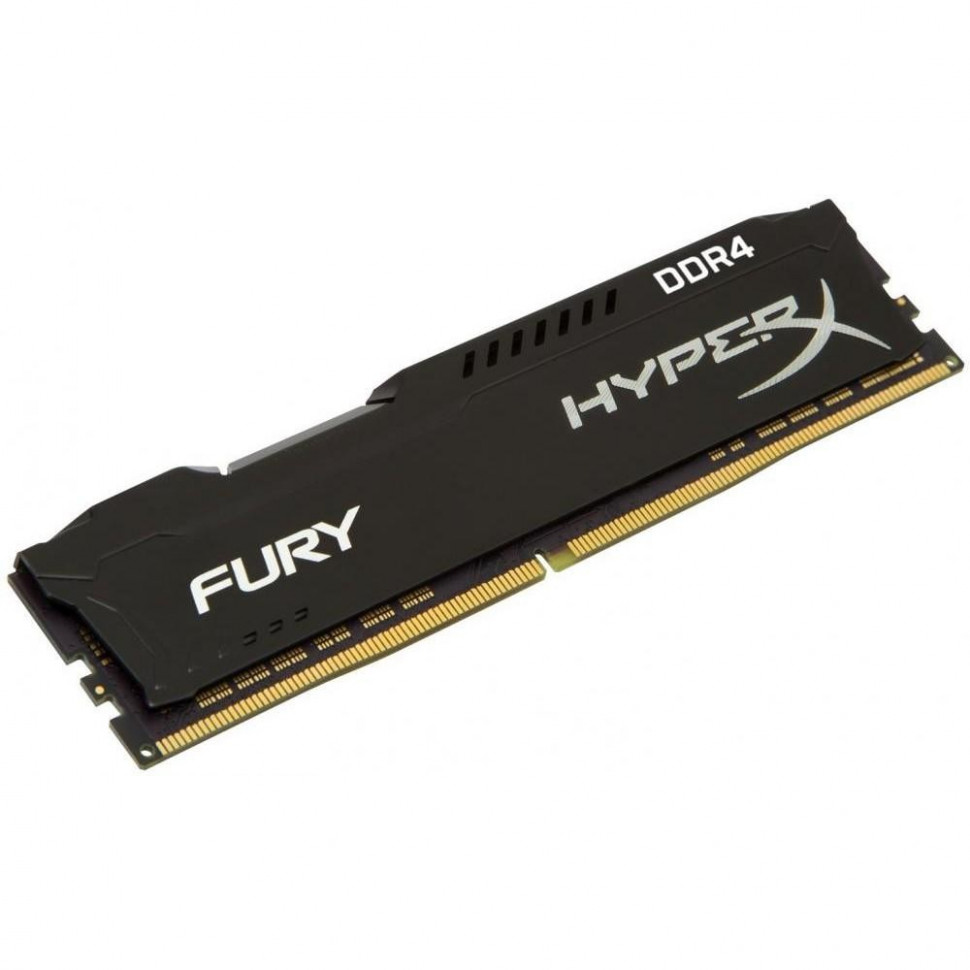Оперативна пам'ять DIMM 8Gb DDR4 PC2933 Kingston HyperX Fury Black
