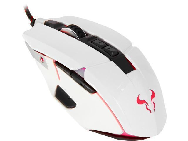Мишка Riotoro Aurox Gaming RGB USB White