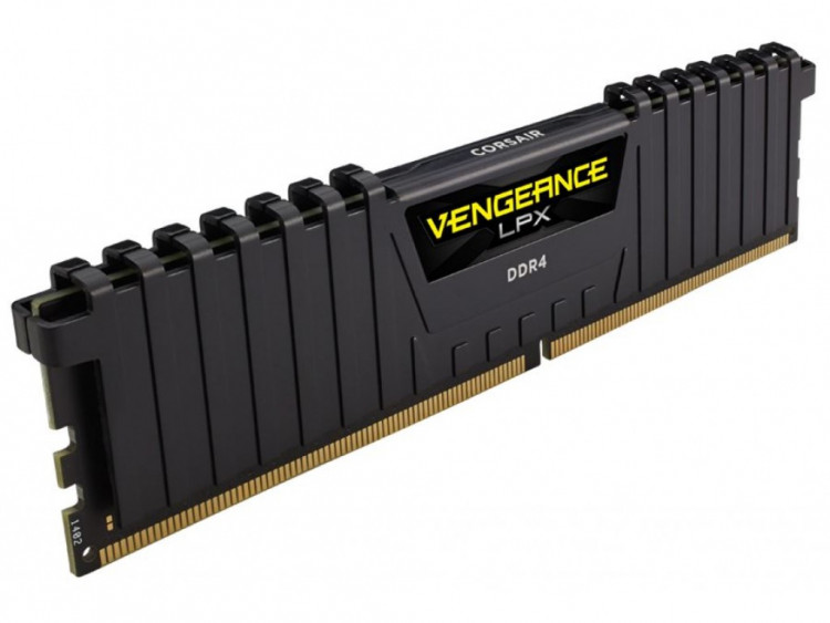 Оперативна пам'ять DIMM 8Gb DDR4 PC2400 Corsair Vengeance LPX Black