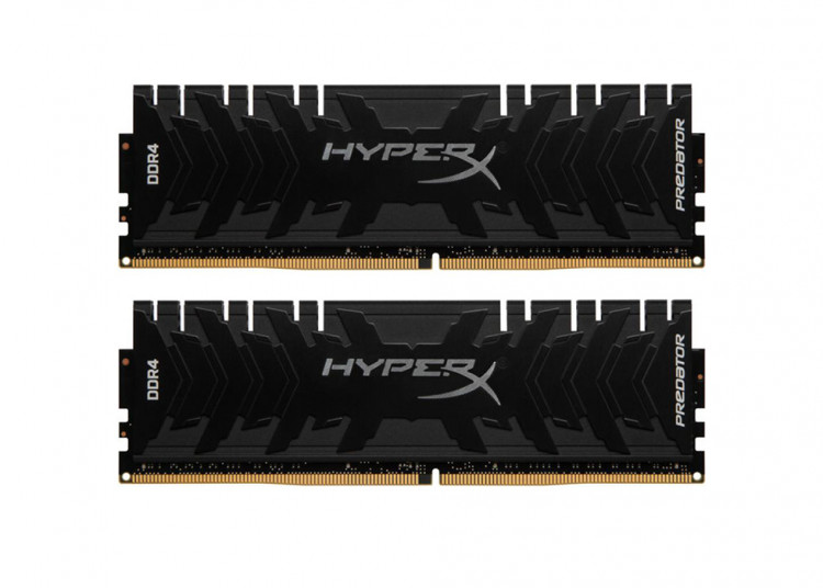 Оперативна пам'ять DIMM 16Gb KIT(2x8Gb) DDR4 PC3333 Kingston HyperX Predator Black