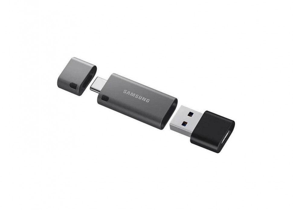 Флешка 256Gb Samsung DUO Plus USB3.1 Grey