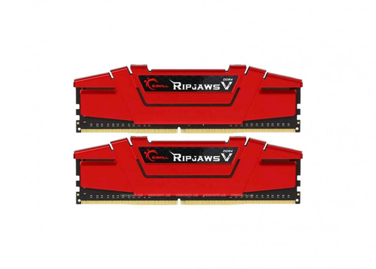 Оперативна пам'ять DIMM 16Gb KIT(2x8Gb) DDR4 PC3200 G.Skill Ripjaws V