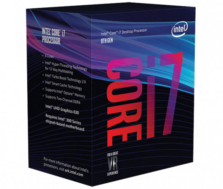 Процесор Intel Core i7-9700K 3.6GHz s1151 Box (без кулера)