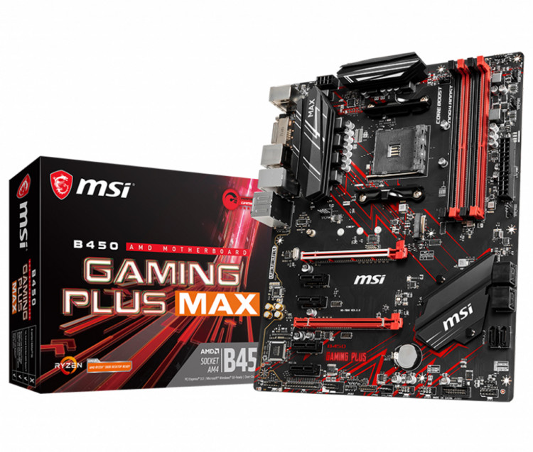 Материнська плата MSI B450 Gaming Plus MAX Socket AM4 ATX