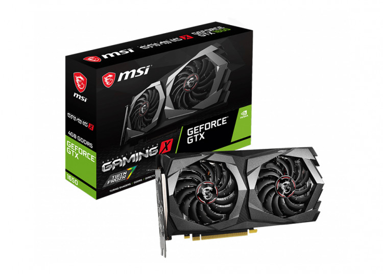 Відеокарта nVIDIA GTX1650 MSI Gaming X 4Gb 128bit GDDR5