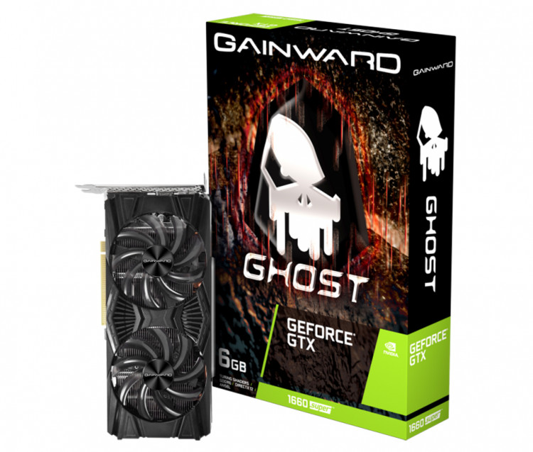 Відеокарта nVIDIA GTX1660 Super Gainward Ghost 6Gb 192bit GDDR6