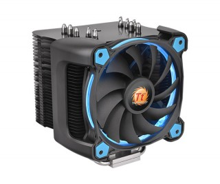 Кулер для процесора ThermalTake Riing Silent 12 Blue, 2011/1150/1155/1156/1366/775, FM1/FM2/AM2/AM2+