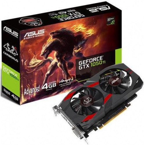 Відеокарта nVIDIA GTX1050Ti Asus Advanced edition 4Gb 128bit GDDR5