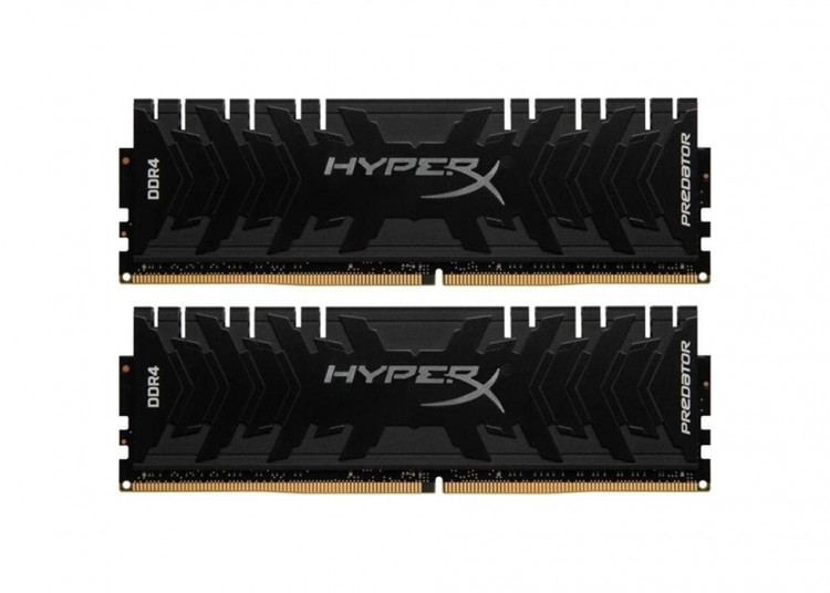 Оперативна пам'ять DIMM 32Gb KIT(2x16Gb) DDR4 PC3000 Kingston HyperX Predator Black