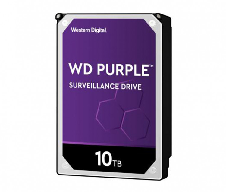"Жорсткий диск 3,5"" 10Tb WD WD102PURZ SATA III 7200 256Mb Purple Video"