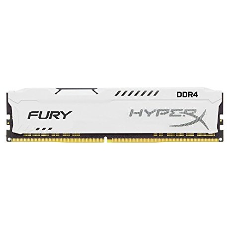 Оперативна пам'ять DIMM 8Gb DDR4 PC2666 Kingston HyperX Fury White
