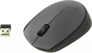 Мишка Logitech M170 Wireless Black-Grey