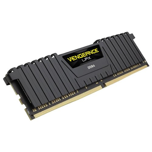 Оперативна пам'ять DIMM 8Gb DDR4 PC2666 Corsair Vengeance LPX Black