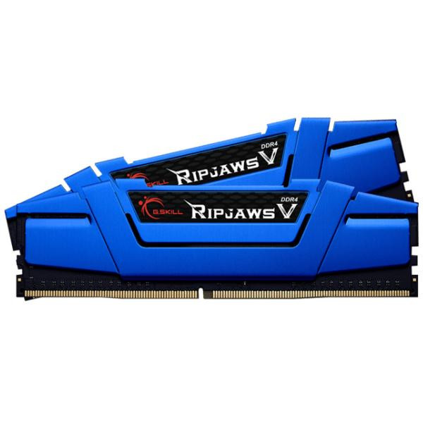 Оперативна пам'ять DIMM 16Gb KIT(2x8Gb) DDR4 PC2400 G.Skill Ripjaws V