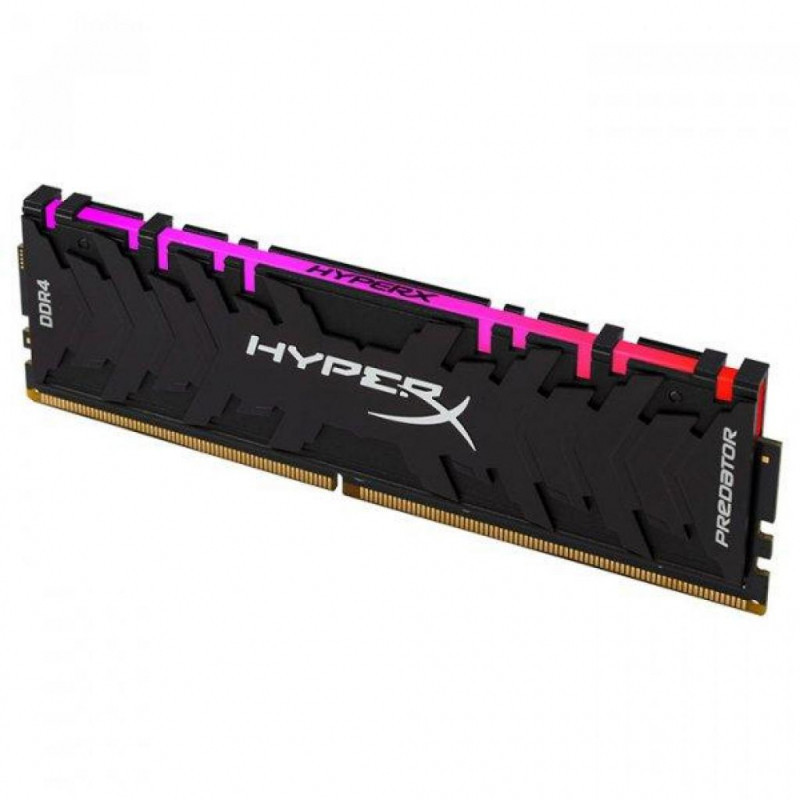 Оперативна пам'ять DIMM 8Gb DDR4 PC2933 Kingston HyperX Predator RGB
