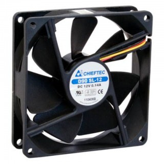 Кулер для корпуса Chieftec Thermal Killer, 2000 об/хв, 26 дБ, 1x80 мм Fan