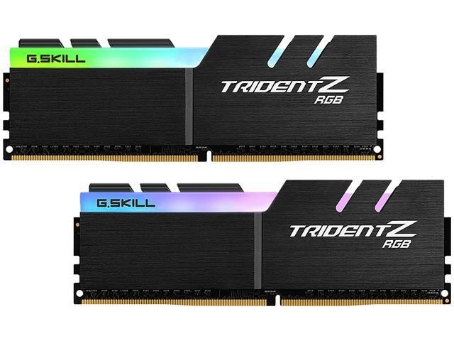 Оперативна пам'ять DIMM 16Gb KIT(2x8Gb) DDR4 PC2933 G.Skill Trident Z RGB