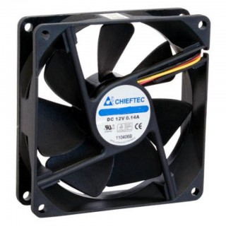 Кулер для корпуса Chieftec Thermal Killer, 1650 об/хв, 31 дБ, 1x120 мм Fan