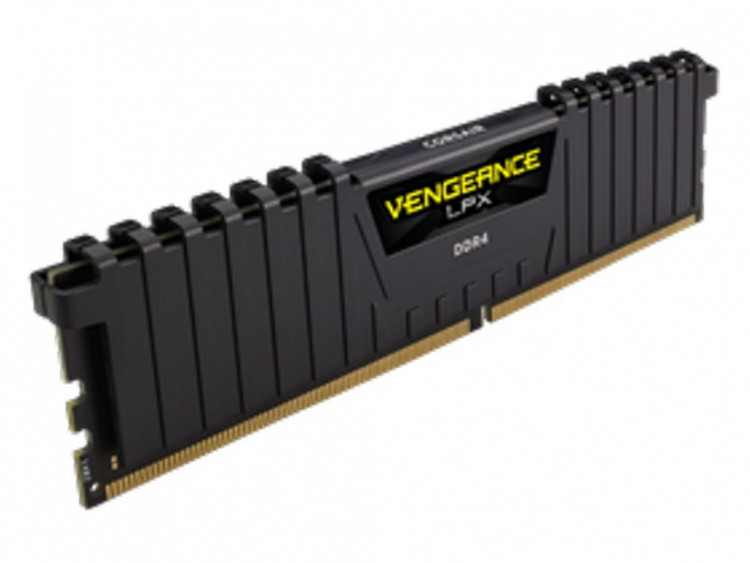 Оперативна пам'ять DIMM 4Gb DDR4 PC2400 Corsair Vengeance LPX Black
