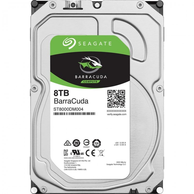 "Жорсткий диск 3,5"" 8Tb Seagate ST8000DM004 SATA III 5400 256Mb Barracuda Desktop"