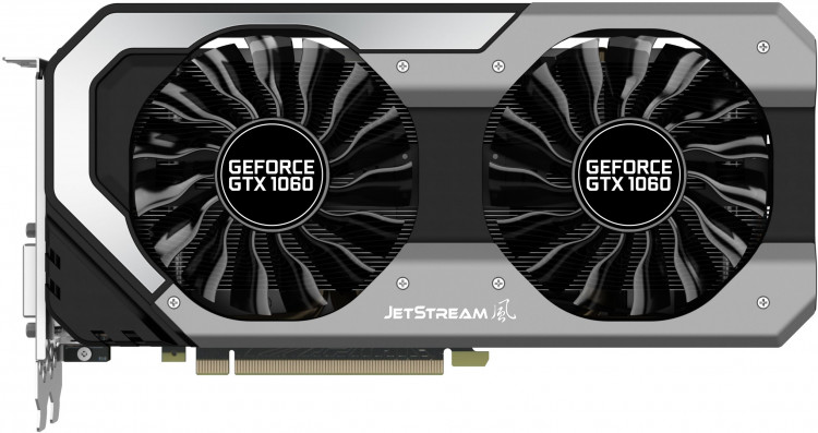 Відеокарта nVIDIA GTX1060 Palit Super JetStream 6Gb 192bit GDDR5