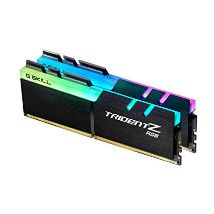 Оперативна пам'ять DIMM 16Gb KIT(2x8Gb) DDR4 PC3000 G.Skill Trident Z RGB