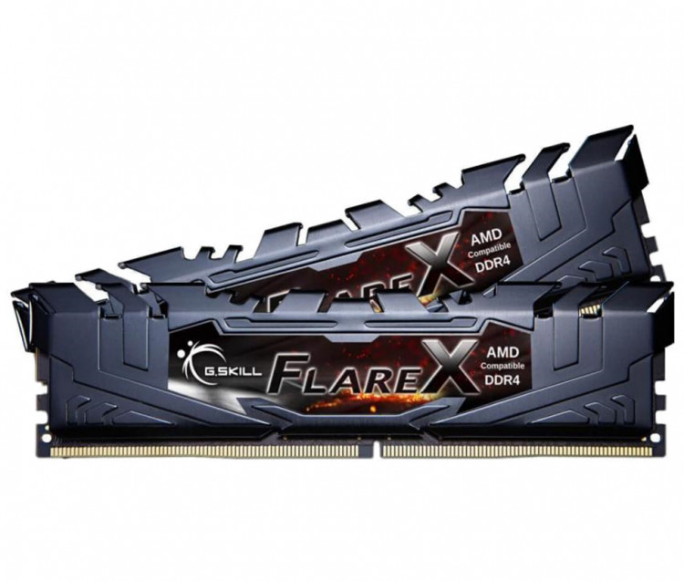 Оперативна пам'ять DIMM 16Gb KIT(2x8Gb) DDR4 PC3200 G.Skill Flare X Black