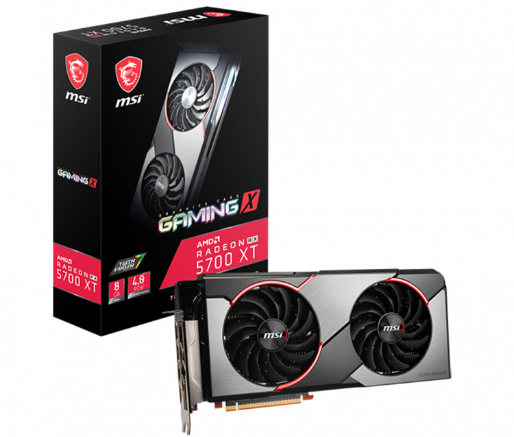 Відеокарта AMD RX 5700 XT MSI Gaming X 8Gb 256bit GDDR6