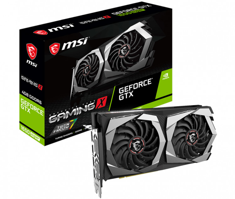Відеокарта nVIDIA GTX1650 Super MSI Gaming X 4Gb 128bit GDDR6